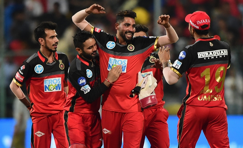 ROYAL CHALLENGERS BANGALORE IPL SRH CRICKET