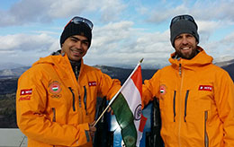 Team India Luge Nations Cup