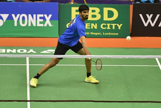 Kidambi Srikanth, B Sai Praneeth in semifinal action