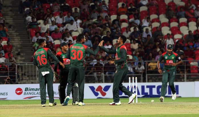 Rashid spins Afghanistan to T20 series sweep over Bangladesh