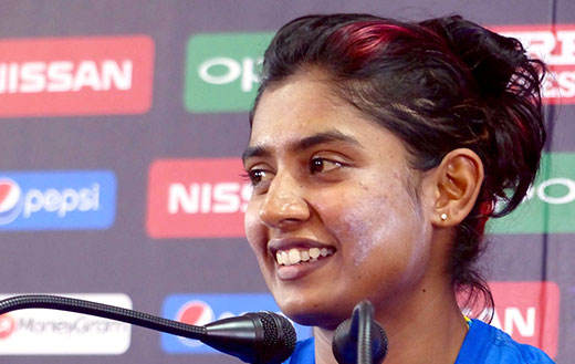 Should not compare women's cricket with men's game: Mithali Raj