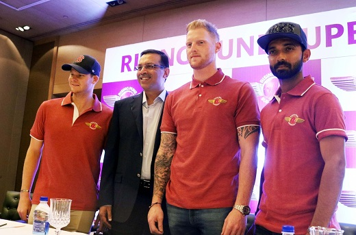 Steve Smith Ajinkya Rahane Rising Pune Giants