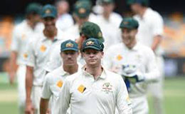 Steve Smith leading Australian test team