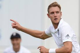 Stuart Broad Test