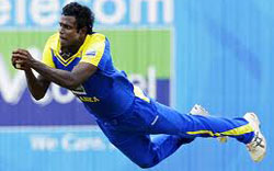 Angelo Mathews ruled out of Asia Cup