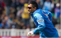 M S Dhoni Indian Cricket Captain