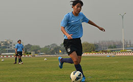 Bala Devi is 2015 AIFF Woman Player Of The Year