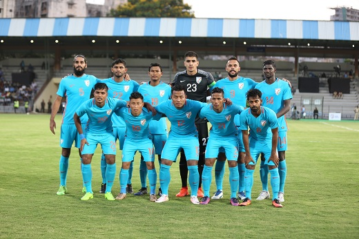India beat spirited Nepal in global football friendly