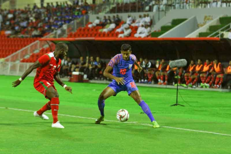 India vs Oman AIFF
