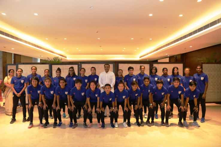Indian women football team AIFF