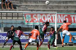 Mohun Bagan will be looking to continue their good run against Mumbai FC
