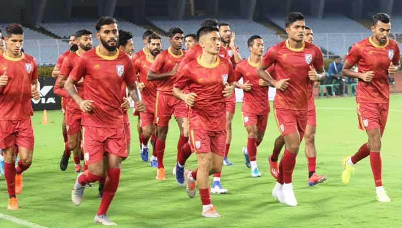 World Cup Qualifiers Indian Football Team