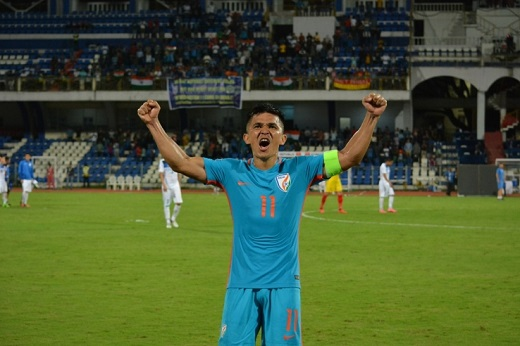 Kyrgyzstan triumph was our best performance in long time: Sunil Chhetri