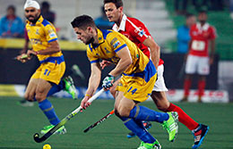 Jaypee Punjab Warriors Vs Dabang Mumbai HIL 2016