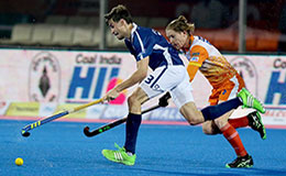 Kalinga Lancers vs Dabang Mumbai Hockey India League 2016