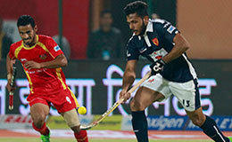 Ranchi Rays Vs Dabang Mumbai Match 27 Hockey India League 2016