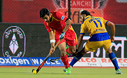 Ranchi Rays Vs Jaypee Punjab Warriors HIL 2016