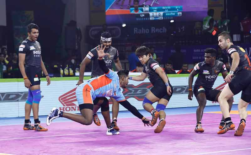 Bengal Warriors vs U Mumba at Patliputra Sports Complex Patna
