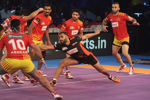 PKL: Fortunegiants overpowers U Mumba