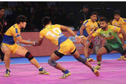 Patna Pirates edge Tamil Th