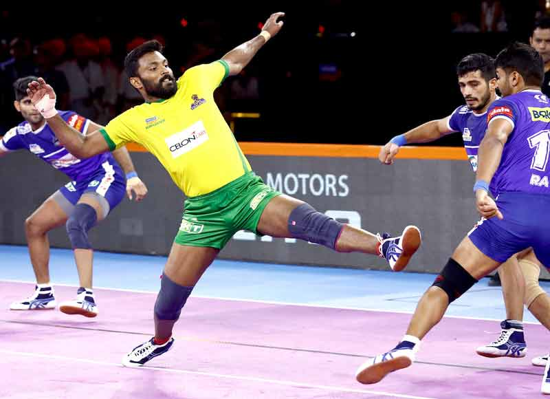 Vikas Kandola stars in Haryana Steelers 43 35 win against Tamil Thalaivas