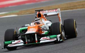 Sahara Force India join hands with Internap