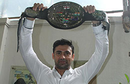 Sangram U Singh wins Last Man Standing wrestling competition