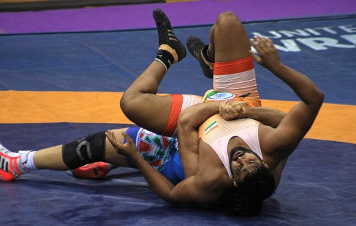 Sumit Kumar Asian Wrestling
